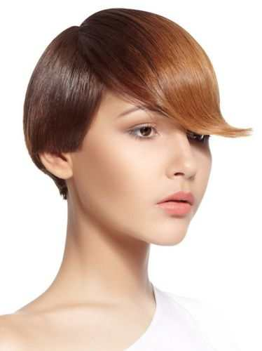 Короткая стрижка для тонких волос