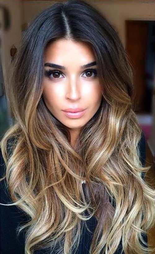 Модная окраска волос в стиле омбре - яркость, элегантность и практичность
