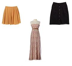 Платья и юбки для фигуры Груша