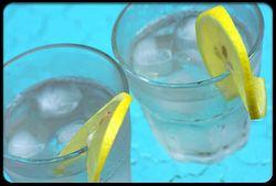 лед, вода со льдом