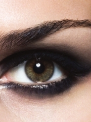 Макияж глаз. Smokey eyes (смоуки айз, дымчатые глаза). Пошаговое фото