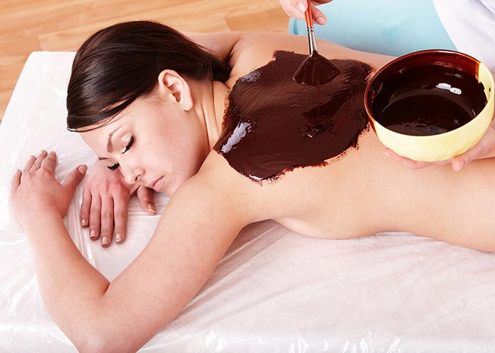Шоколадное обертывание видео