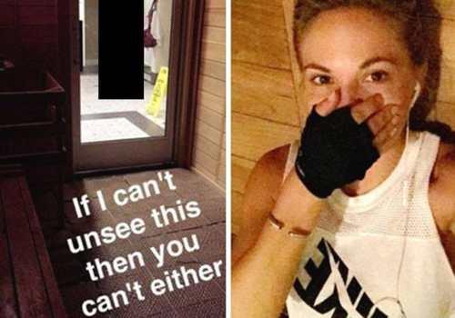 Подробности  Женские новости · Модель Дани Матерс запостила фото голой  женщины из раздевалки f4a936fb2ea