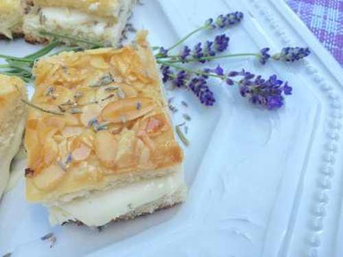 Лавандовый пирог Пчелиное жало. Рецепт