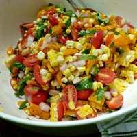 Летние овощные салаты. Часть 3