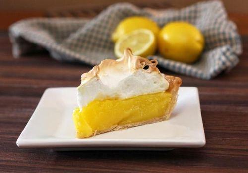 Лимонный пирог Безе - классический рецепт