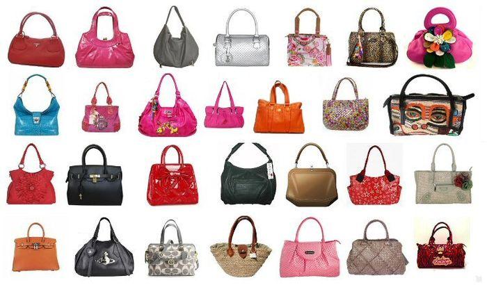 b9a804c8c3f0 Виды женских сумок. Названия женских сумок по форме и назначению ...